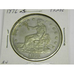 1876 S Trade Dollar