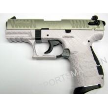 Walther P22, pink carbon fiber