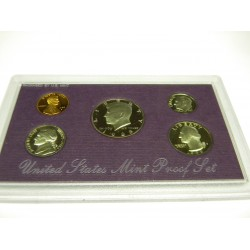 1989 US Mint Proof Set-no outer cover