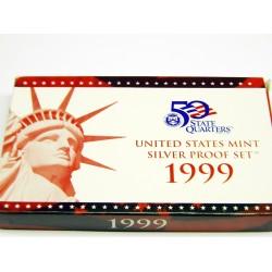 1999 Silver US Mint Proof Set