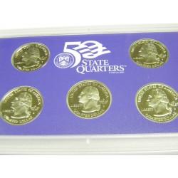 2001 State Quarters Proof Set