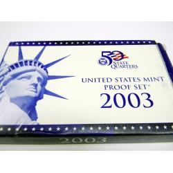 2003 US Mint Proof Set