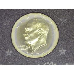 1974 Eisenhower Dollar