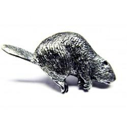 Pewter pin Beaver 413