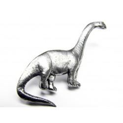 Pewter pin Brontosaurus 620