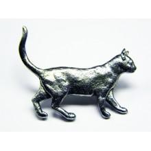 Pewter pin Cat 439