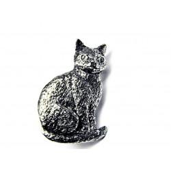 Pewter pin Cat 438