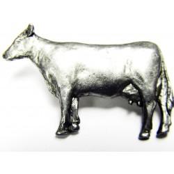 Pewter pin Cow 445