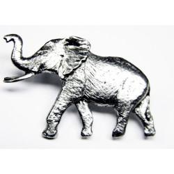 Pewter pin Elephant 490