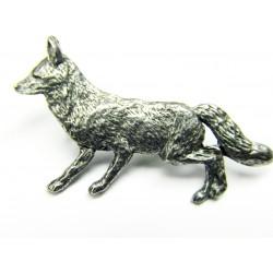 Pewter pin Fox 409
