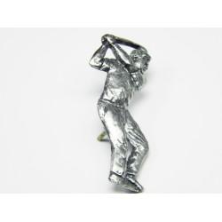 Pewter pin Golfer 904
