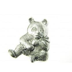 Pewter pin Panda 496