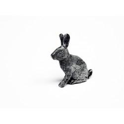 Pewter pin Rabbit 412