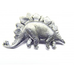 Pewter pin Stegosaurus 621