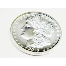 Silver Round Morgan 2013